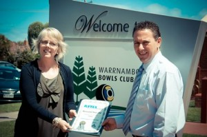 avtes success story Warrnambool Bowls Club, Employer of the Year