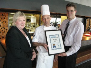 AVTES Employer of the Year 2012, Hilton South Wharf