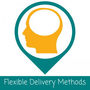 flexible delivery methods