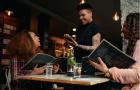 hotels need better service, waiter providing good service