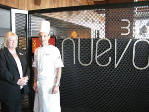 Hilton Melbourne South Wharf Lyn Blight and Head Chef Glen