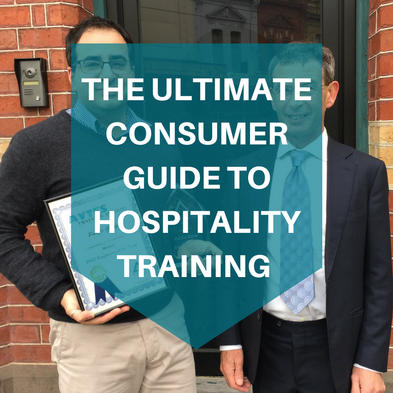 The ultimate consumer guide to hospitality training