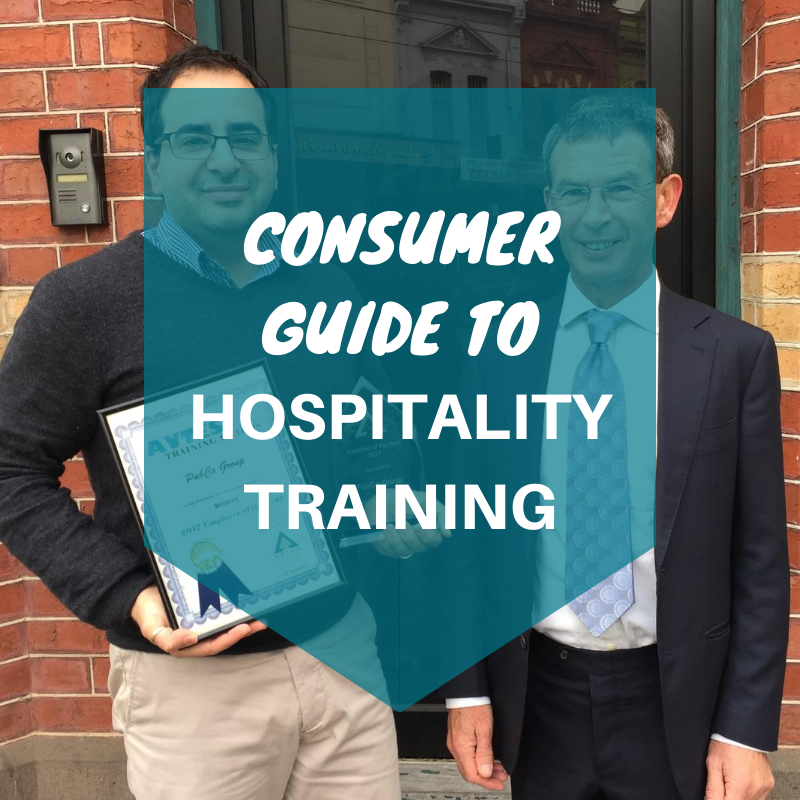 consumer guide to hospitality training