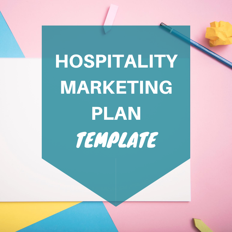 hospitality marketing plan template